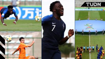 Francia se impuso ante los Países Bajos con tres goles de Arnaud Kalimuendo y se llevan la medalla de bronce en el Mundial Sub 17 celebrado en Brasil.