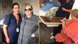 VIDEO: Paquita la del Barrio reapareció tras estar hospitalizada