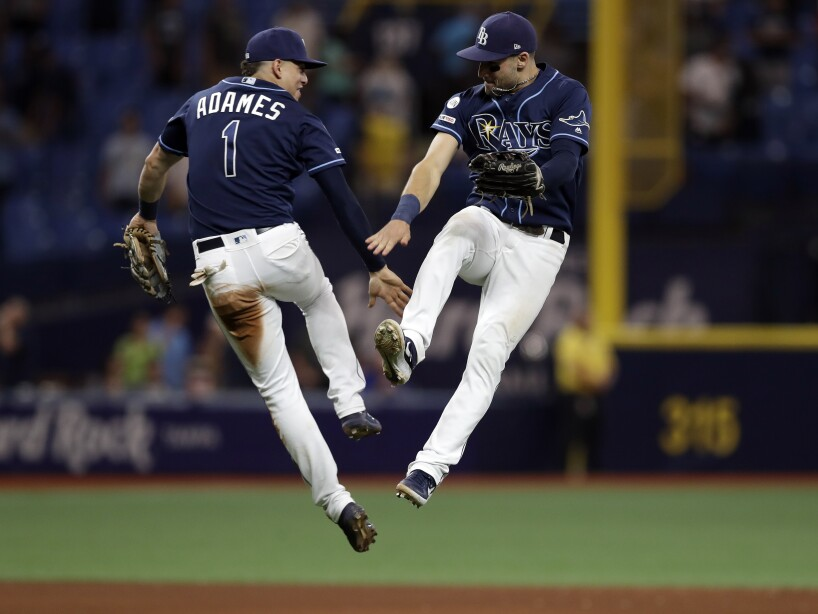 Willy Adames, Kevin Kiermaier