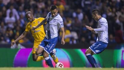 Tigres no logra romper el 0-0 en Puebla y se conforman en llevarse un punto a casa.