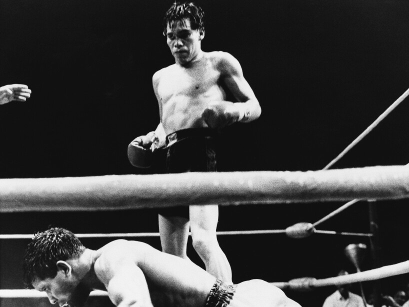 Ruben Olivares bantanweight title