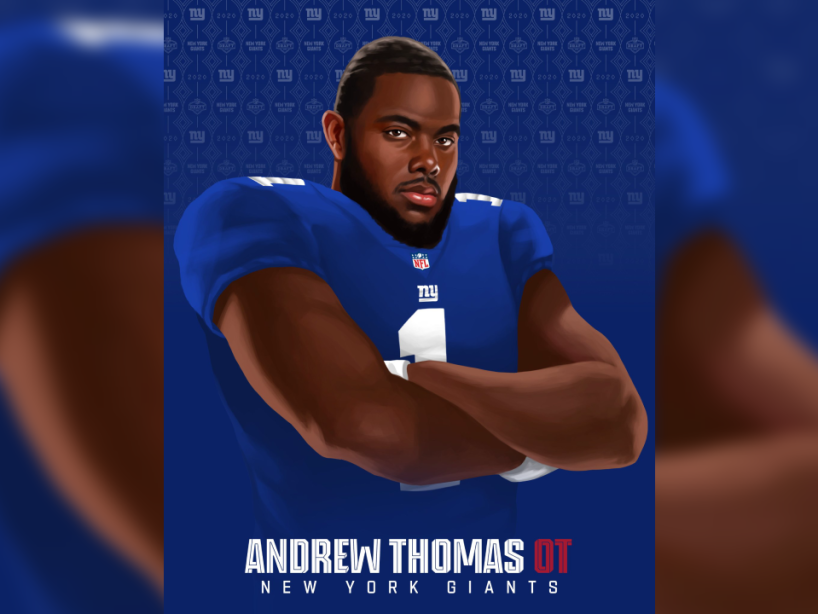 Andrew Thomas, NFL Draft 2.png