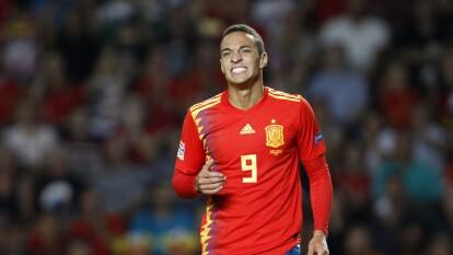 Rodrigo Moreno quiere ser el '9' titular de la Roja, para ello tiene que meter muchos goles.