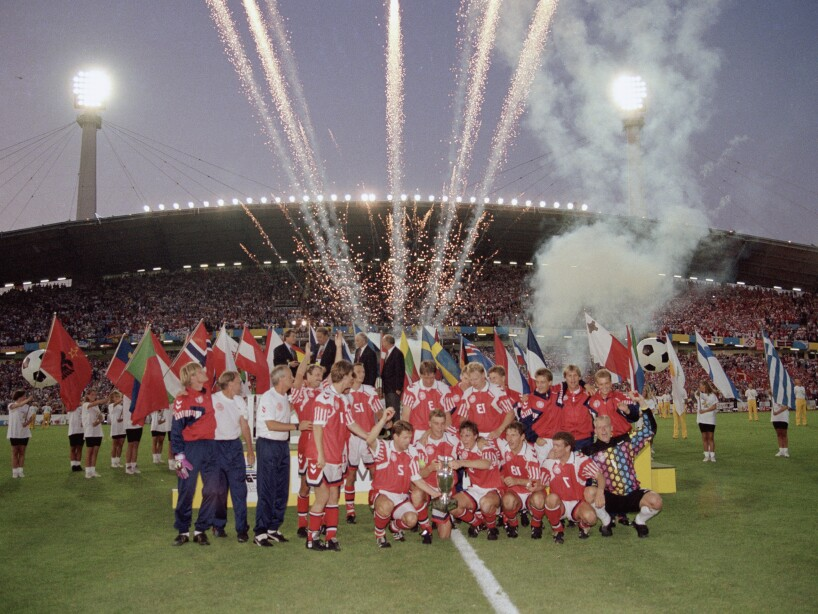 UEFA Euro '92 FINAL - Denmark v Germany