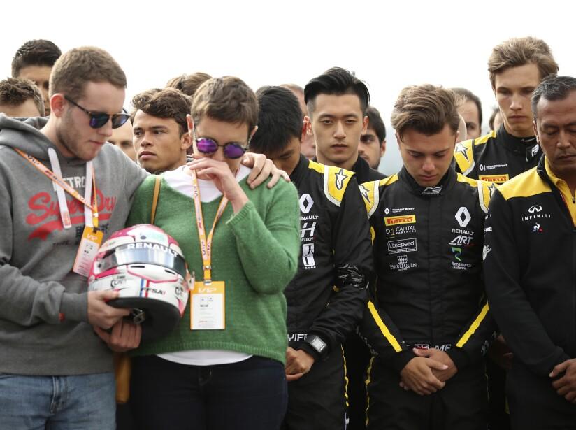 Belgium F2 Driver Dies
