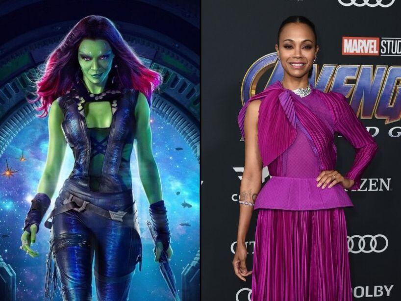 Acotes del Universo Cinematográfico de Marvel sin maquillaje y efectos visuales