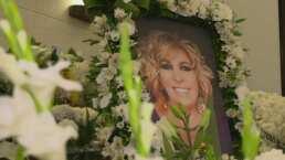 Con más 200 arreglos florales, así fue como despidieron a Magda Rodríguez en su funeral