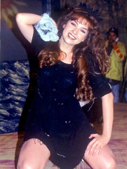 'María la del barrio' fue una telenovela producida entre 1995 y 1996 por Angelli Nesma, como una adaptación de la telenovela de 1979 estelarizada por Verónica Castro, 'Los ricos también lloran'.