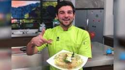Chef de 'Hoy' se lleva las palmas por preparar unos verdaderos papadzules yucatecos