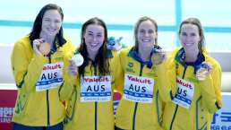 Australia rompe el récord de 4x200 en Gwangnju
