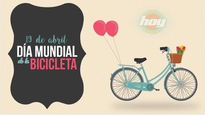 Celebra el día mundial de la bicicleta