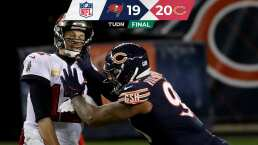 Tom Brady no pudo evitar la derrota ante los Bears