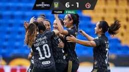 Resumen | Tigres Femenil vence a Xolos con una feria de goles