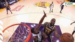LeBron y Davis brillaron en el triunfo de Lakers sobre Spurs