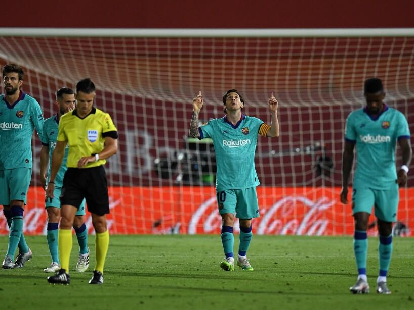 RCD Mallorca v FC Barcelona - La Liga