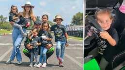 Jacky Bracamontes tiene una nueva piloto en la familia: su pequeña hija, Paula