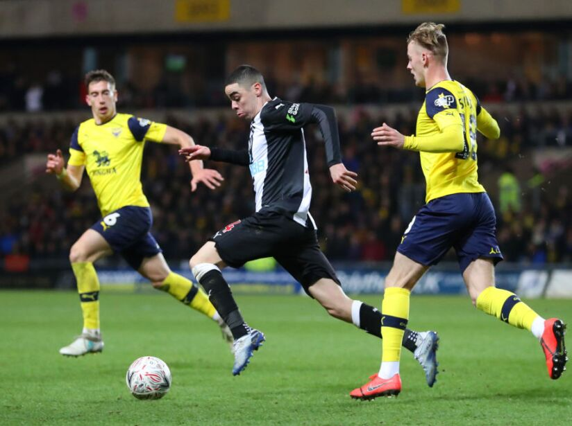 Oxford United v Newcastle United - FA Cup Fourth Round: Replay