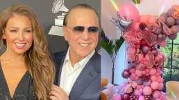 Thalía: Tommy Mottola celebra en grande el cumpleaños número 50 de la cantante