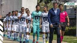 Míchel ha debutado a seis canteranos de Pumas en Copa MX