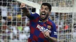 ¡Por fin! Luis Suárez ya es elegible con Barcelona