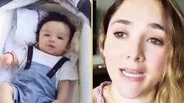 Sherlyn enfrentará la llegada del huracán 'Delta' desde Cancún junto con su hijo André.