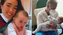 Desde el hospital, Sharon Fonseca comparte tierno video junto a su hija tras su cirugía de paladar hendido