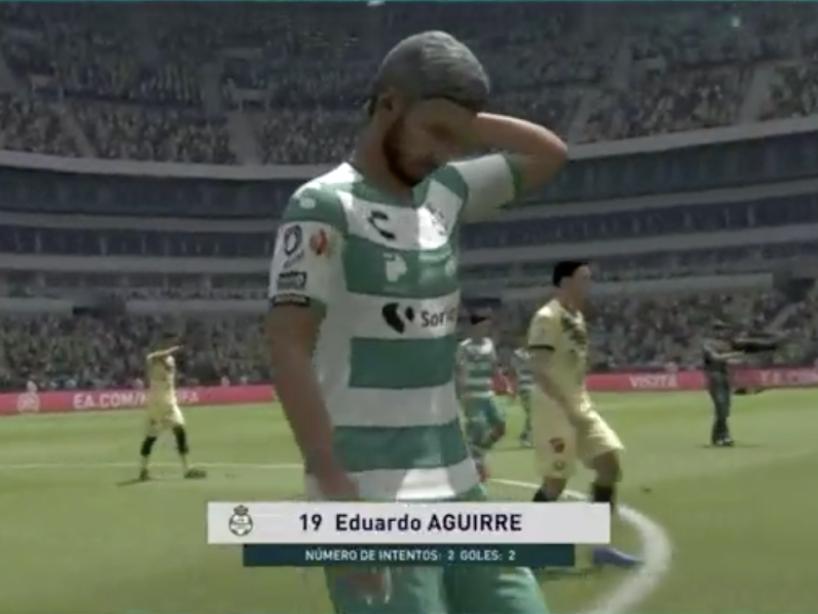 eLiga MX, Santos vs América, 2.png