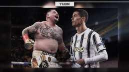 Cristiano Ronaldo defiende a Andy Ruiz de críticas por sobrepreso