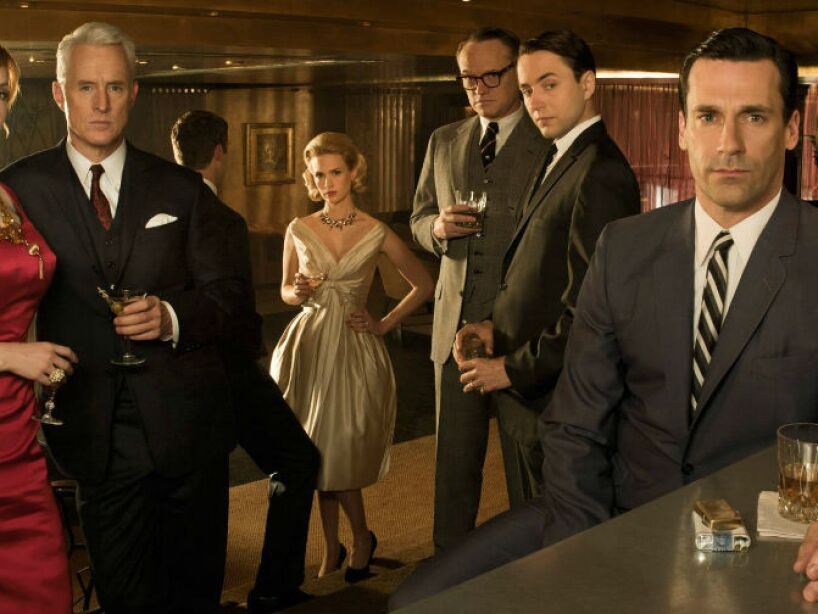 9. Mad Men (2007, 2015) de AMC.