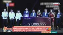 El Recodo abre fideicomiso para apoyar a músicos que se quedaron sin ingresos durante la pandemia