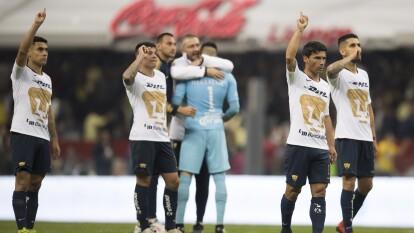 Se jugaba la vuelta de las semifinales del Apertura 2018, América y Pumas empataron 1-1 en la ida en C.U.