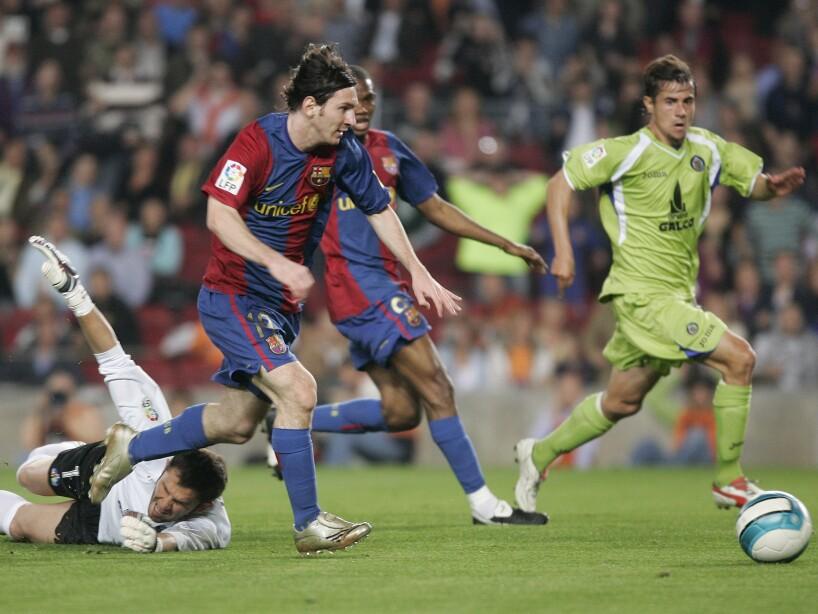 Lionel Messi, Luis Garcia
