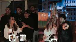 Danna Paola, Sebastián Yatra y Morat se reencuentran en España y asombran cantando juntos