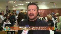 ¡Arturo Peniche agradece el milagro de estar vivo!