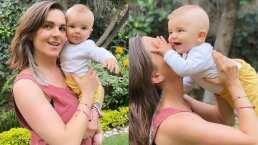 El bebé de Zoraida Gómez no puede evitar sonreír al saber que estará muy cerca de mamá