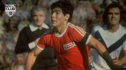 Diego Maradona, a 44 años de su debut como profesional