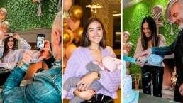 Sharon Fonseca celebró en grande su cumpleaños 26 al lado de Blu Jerusalema y Gianluca