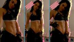 ¡Livia Brito está 'On fire'!: La actriz presume que tiene un abdomen marcado