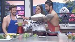 """Los momentos más incómodos y divertidos entre Lambda García, Galilea Montijo y el """"taquero más sexy"""""""