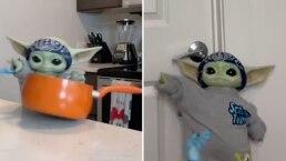 Baby Yoda da lección de cómo manifestar enojo