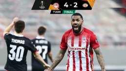 'Guti' juega seis minutos en goleada de PSV ante Olympiakos
