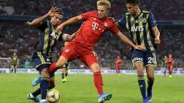 Diego Reyes reaparece con Fenerbahce en goleada ante Bayern Múnich