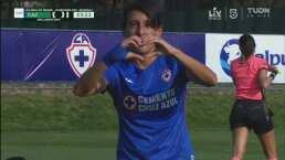 ¡Golazo! Karime Abud con un disparo potente pone el 2-0