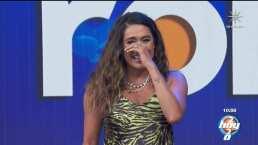 A Galilea Montijo le da un ataque de risa al ver cómo se cae Martha Figueroa en dinámica del programa 'Hoy'