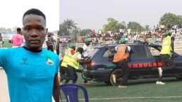 Jugador muere en Nigeria por falta de ambulancia