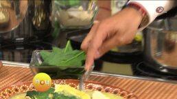 Cocina: Tamales de pollo con salsa verde