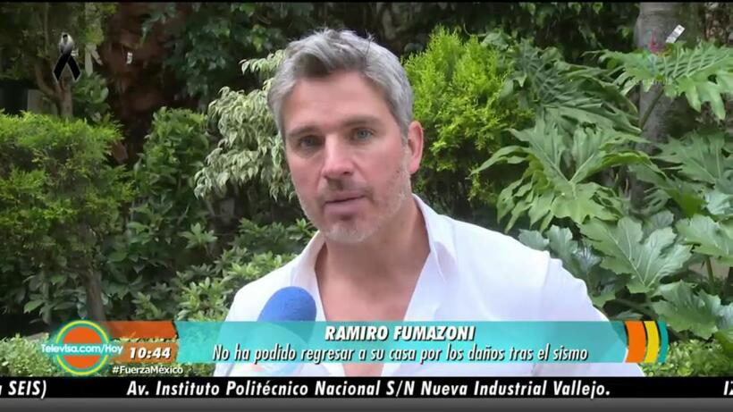 ¡Ramiro Fumazoni fue desalojado!