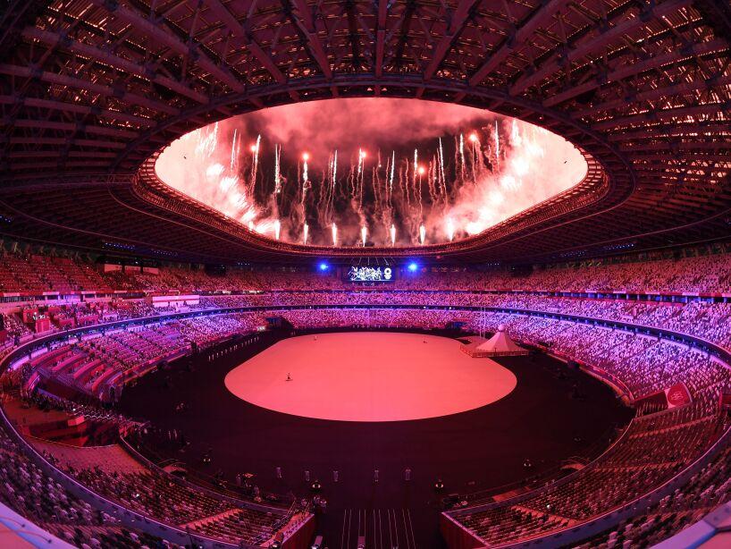 Ceremonia de inauguración Tokyo 2020 comienzo
