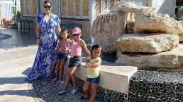 Hijas de Jacky Bracamontes muestran su lado extremo al subirse a montaña rusa