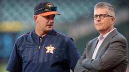 Despiden a Manager y Gerente General de los Astros